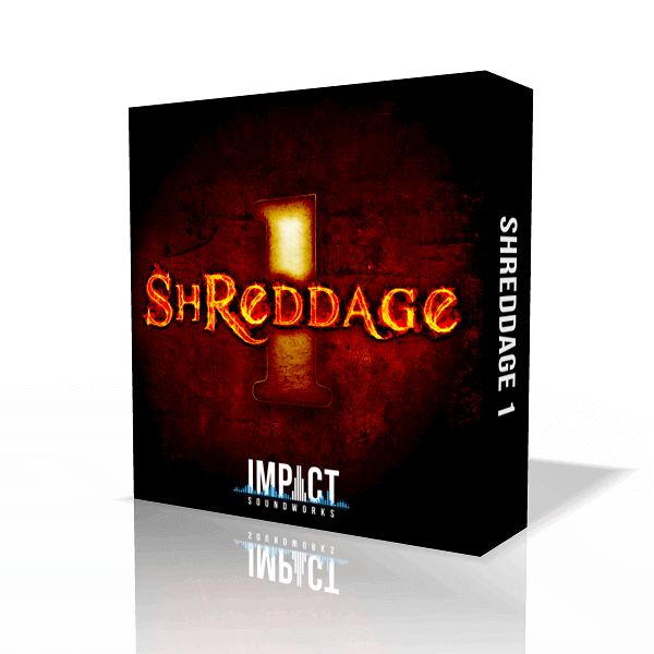 Shreddage 1 by Impact Soundworks (VST, AU, AAX)