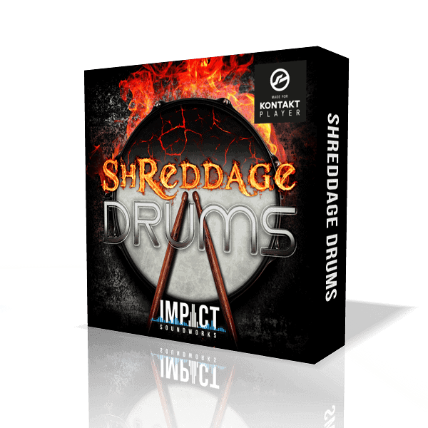 Shreddage Drums by Impact Soundworks (VST, AU, AAX)