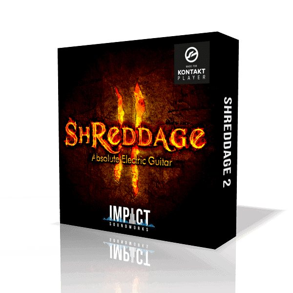 Shreddage 2: Absolute Electric Guitar (VST, AU, AAX)