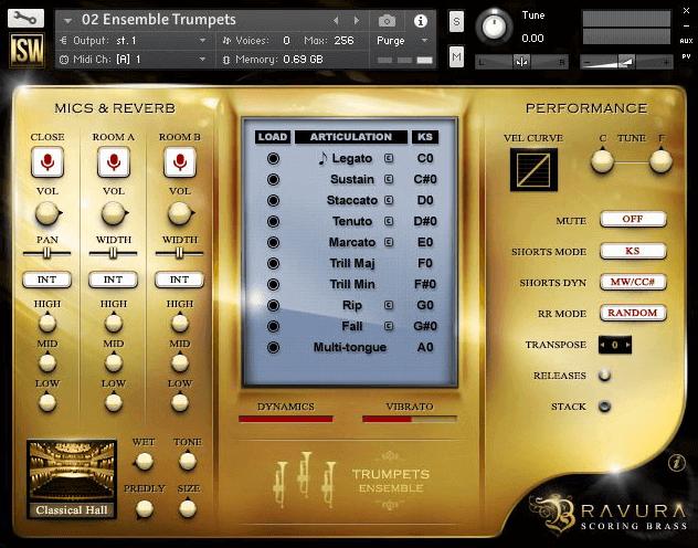 Bravura Scoring Brass by Impact Soundworks (VST, AU, AAX)
