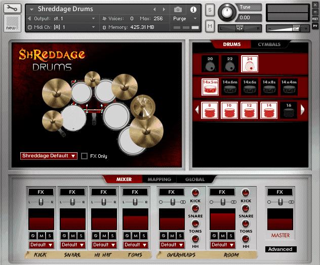 Shreddage Drums by Impact Soundworks (VST, AU, AAX)