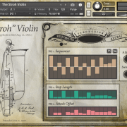 The Stroh Violin – Sequencer