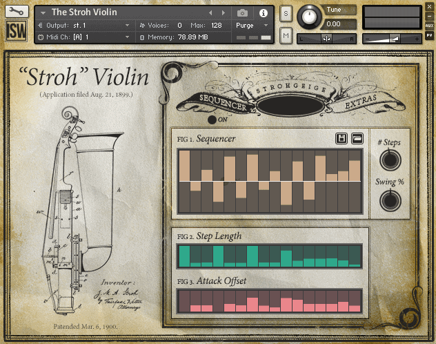 The Stroh Violin by Impact Soundworks (VST, AU, AAX)