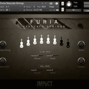 Furia Staccato Strings – Mixer