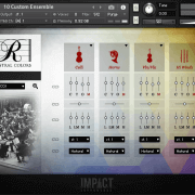 Rhapsody: Orchestral Colors – Custom Ensemble