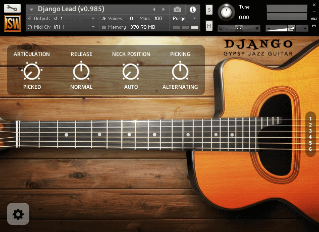 Django Gypsy Jazz Guitar (VST, AU, AAX)