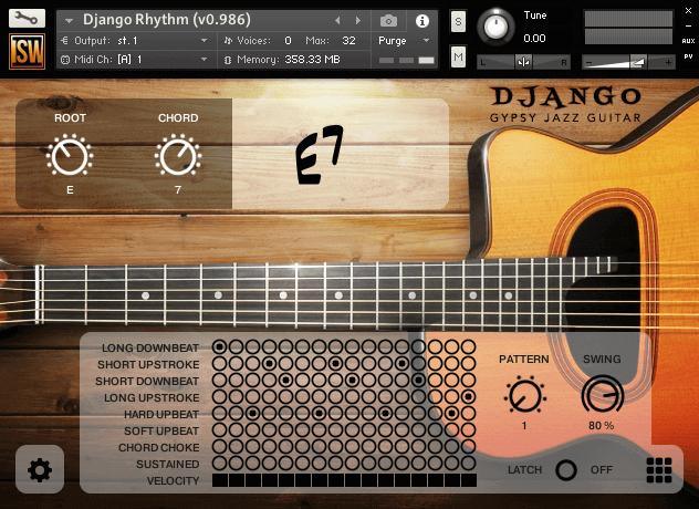 Django Gypsy Jazz Guitar (VST, AU, AAX)