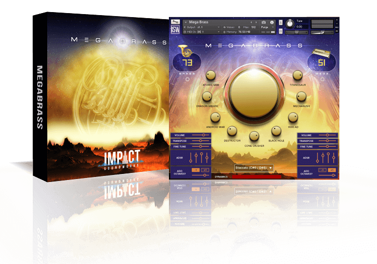 Mega Brass by Impact Soundworks (Kontakt VST, AU, AAX)