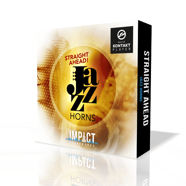 Straight Ahead Jazz Horns by Impact Soundworks (Kontakt VST, AU)