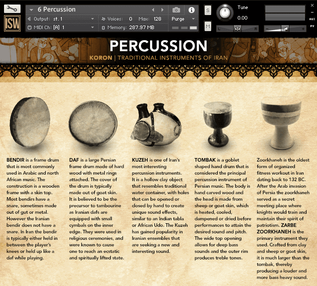 Koron: Traditional Instruments of Iran - Impact Soundworks