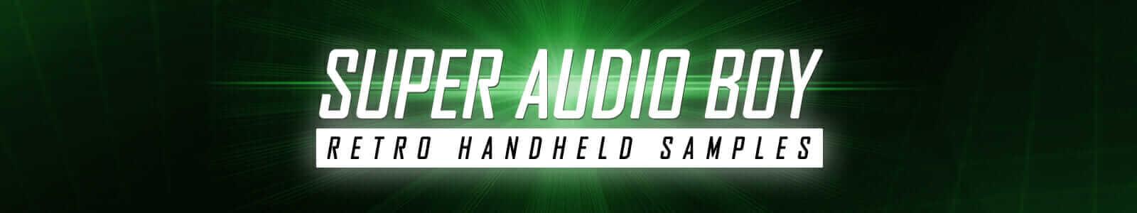 Super Audio Boy - Retro Handheld Samples (Free Instrument)