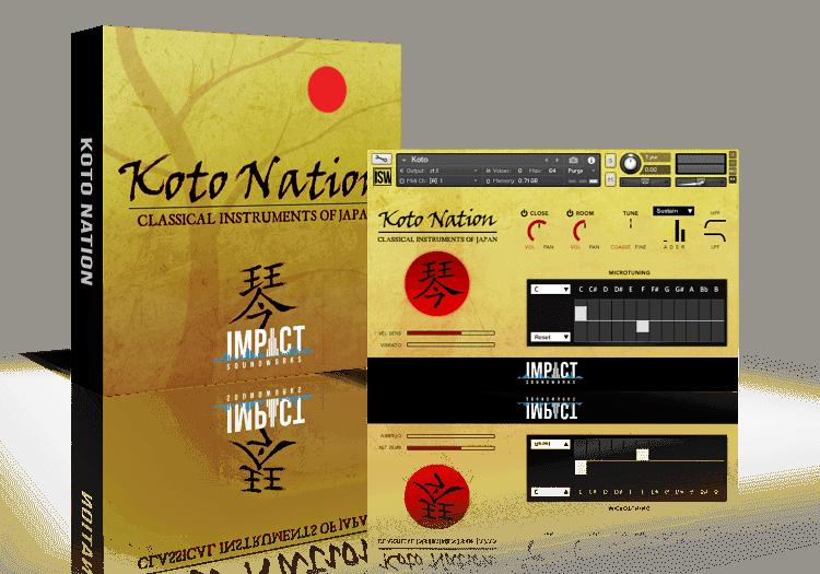Koto Nation by Impact Soundworks (VST, AU, AAX)