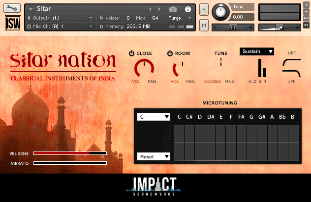 Sitar Nation by Impact Soundworks (VST, AU, AAX)