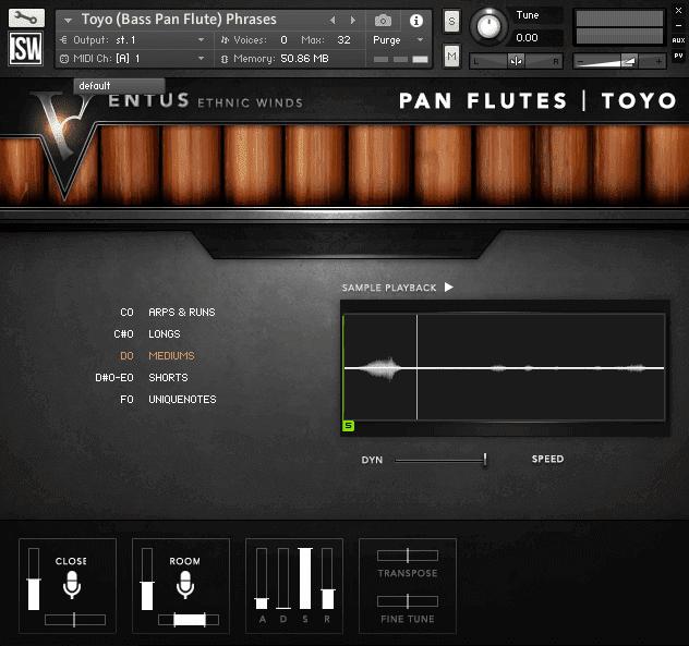 Ventus Ethnic Winds - Pan Flutes (VST, AU, AAX)