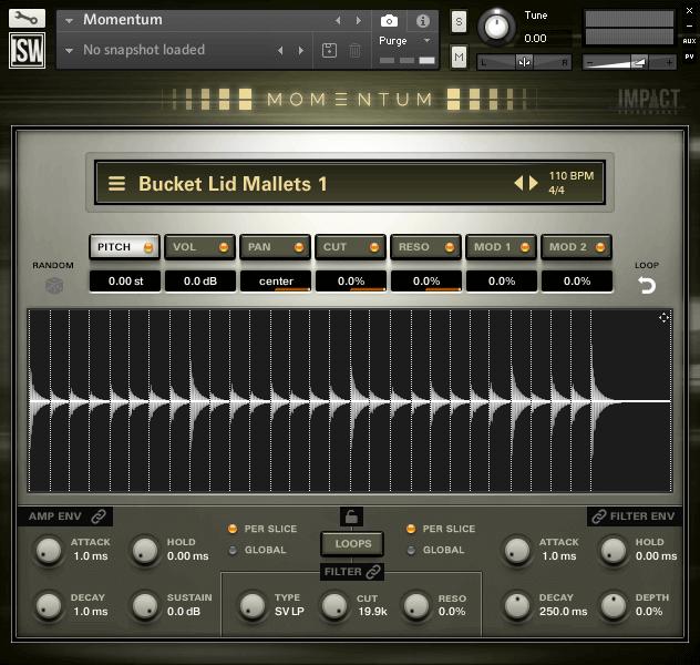 Momentum - Percussive Sound Design (VST, AU, AAX) Loop Collection
