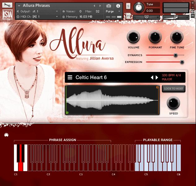 Allura Volume 1 - Ethereal Vocals (VST, AU, AAX) Kontakt