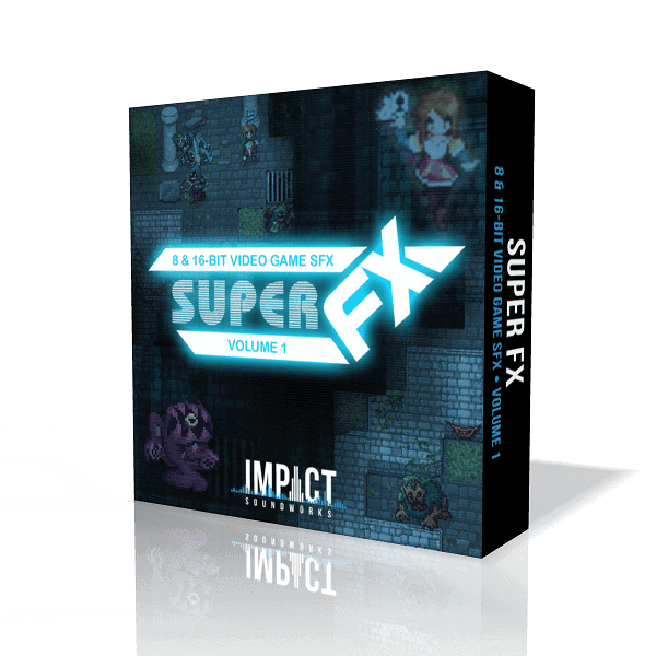 Super FX Volume 1: 8 and 16-bit Video Game Sound Effects