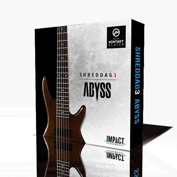 Shreddage 3 Abyss (VST, AU, AAX) Virtual Guitar Instrument