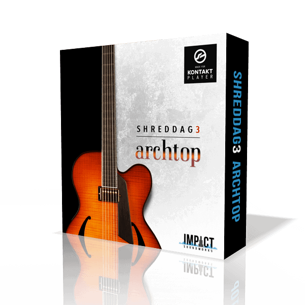 Shreddage 3 Archtop (VST, AU, AAX) Virtual Guitar Instrument