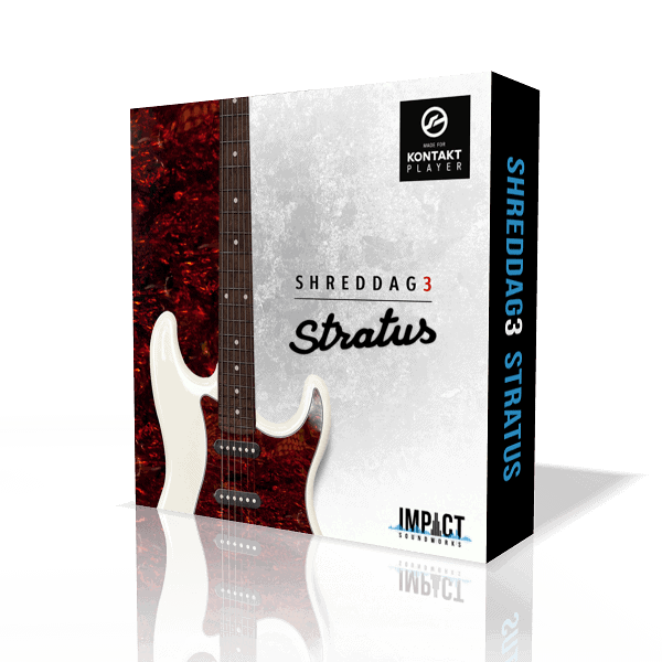 Shreddage 3 Stratus (VST, AU, AAX) Virtual Guitar Instrument