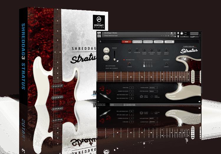 Shreddage 3 Stratus (VST, AU, AAX) Virtual Guitar Instrument